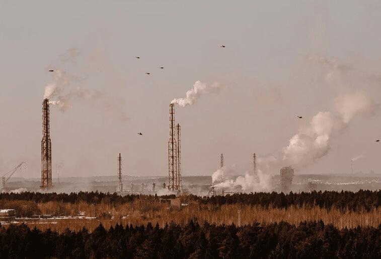 空氣污染:工廠廢氣